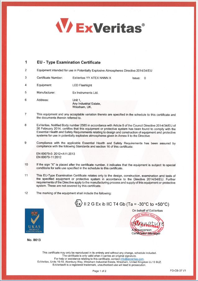 Atex certification body and iecex certification expedited and cost atex certificate yelopaper Choice Image
